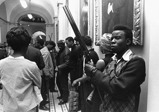 Black Panther Party At California Capitol