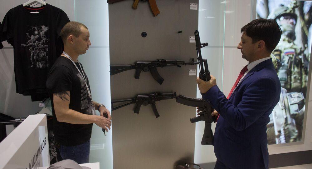 Concern Kalashnikov opens its store at Sheremetevo Airport