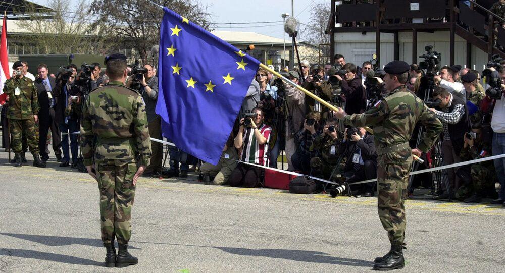 NATO EUFOR ceremony