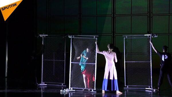 Russian St. Petersburg Ballet Theatre Rehearses Ballet About Refugees - Sputnik International