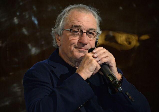 American actor, film director and producer Robert De Niro opens Nobu Crocus City restaurant in Moscow