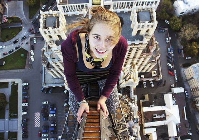The Sky is the Limit: Russian Girl Takes Most Extreme Shots Ever