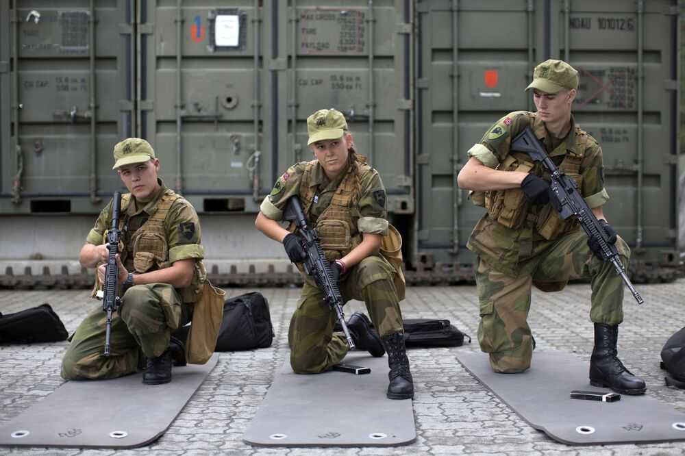 Scandinavian Power: First Female Recruits of Norway's Army