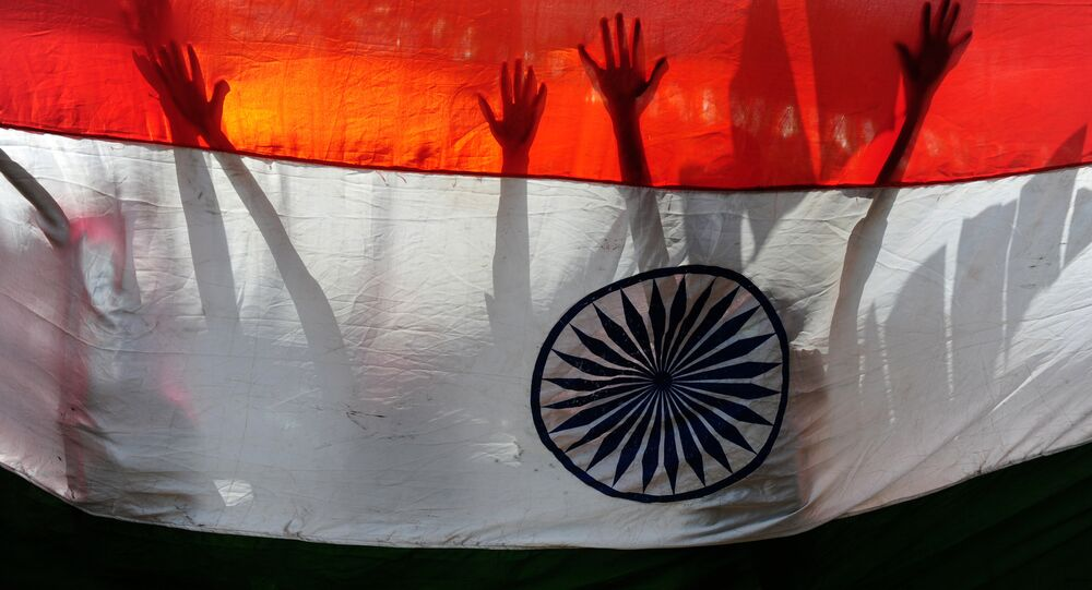 Indian flag. (File)