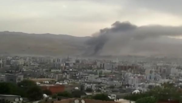 Casualties Feared in Southeast Turkey Police HQ Bomb Blast - Sputnik International