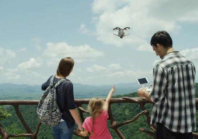Introducing the revolutionary PowerEgg camera drone!