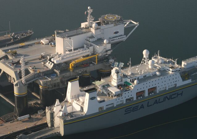 Sea Launch Pad and Command Vessel