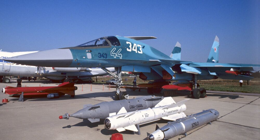 Two-seat fighter-bomber Su-32