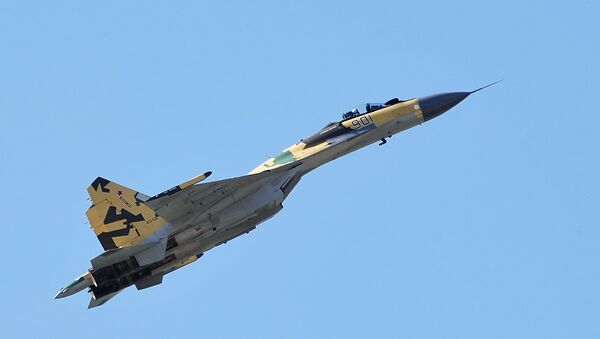 Multi-purpose fighter Su-35, latest of the last generation - Sputnik International