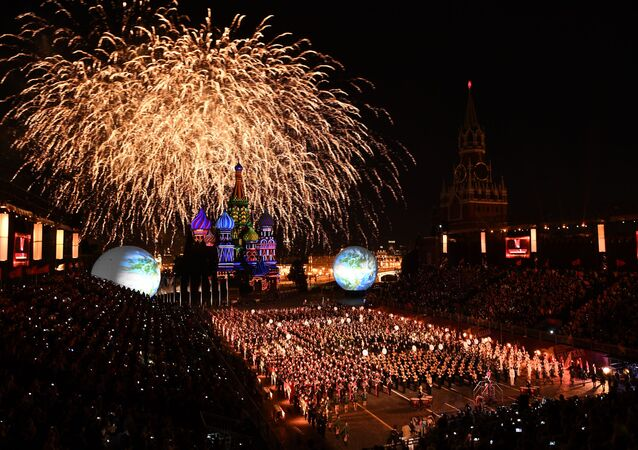 Opening Ceremony of the International Military Music Fest 'Spasskaya Tower-2016'
