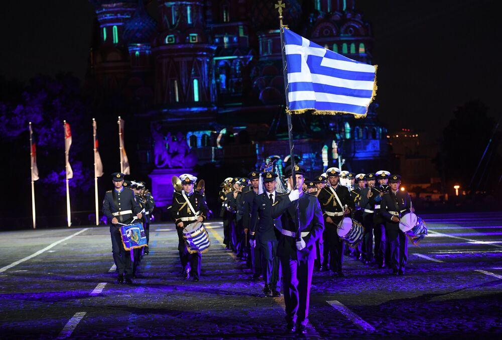 Opening Ceremony of the International Military Music Fest 'Spasskaya Tower-2016'