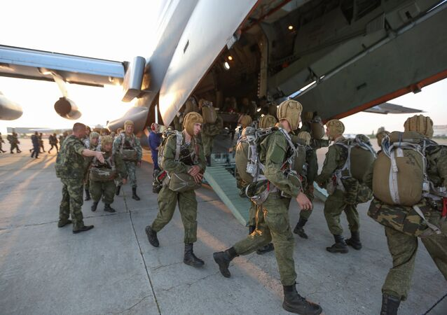 Airborne troops. File photo