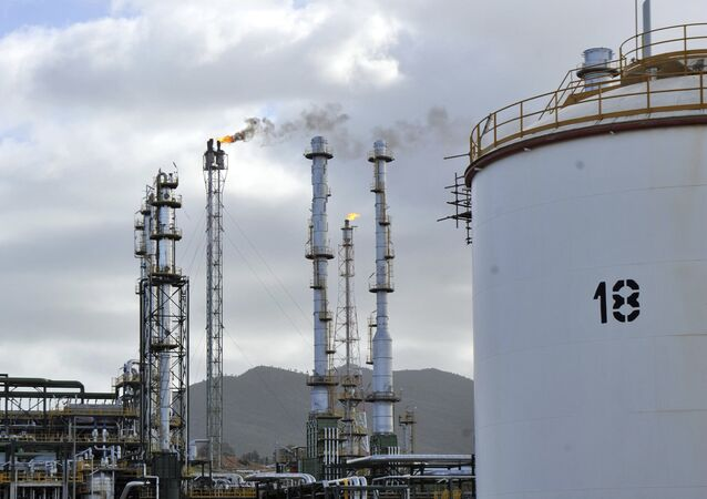 Skikda oil refinery, 350 kilometers east of Algiers, Algeria (File)