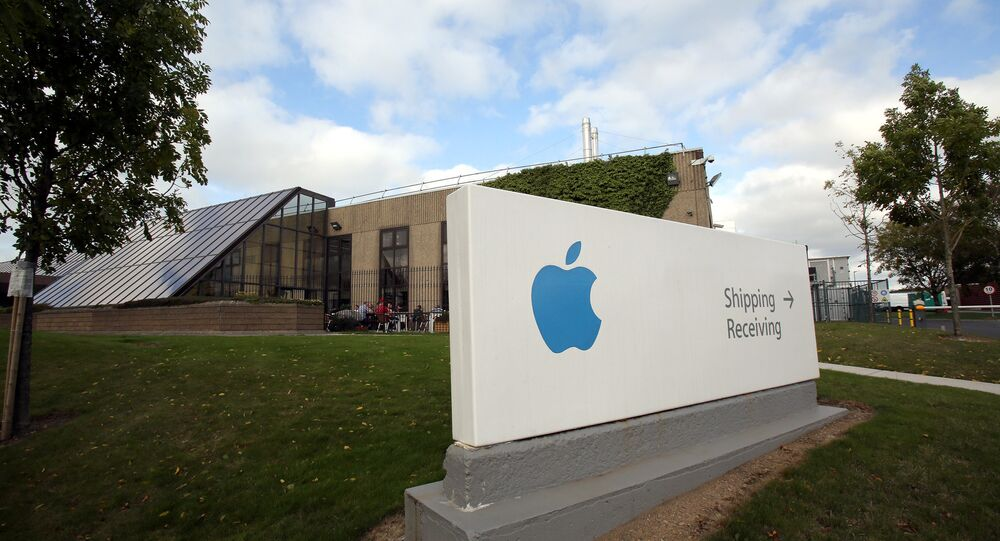 A view of buildings on The Apple campus in Cork, southern Ireland  (File)