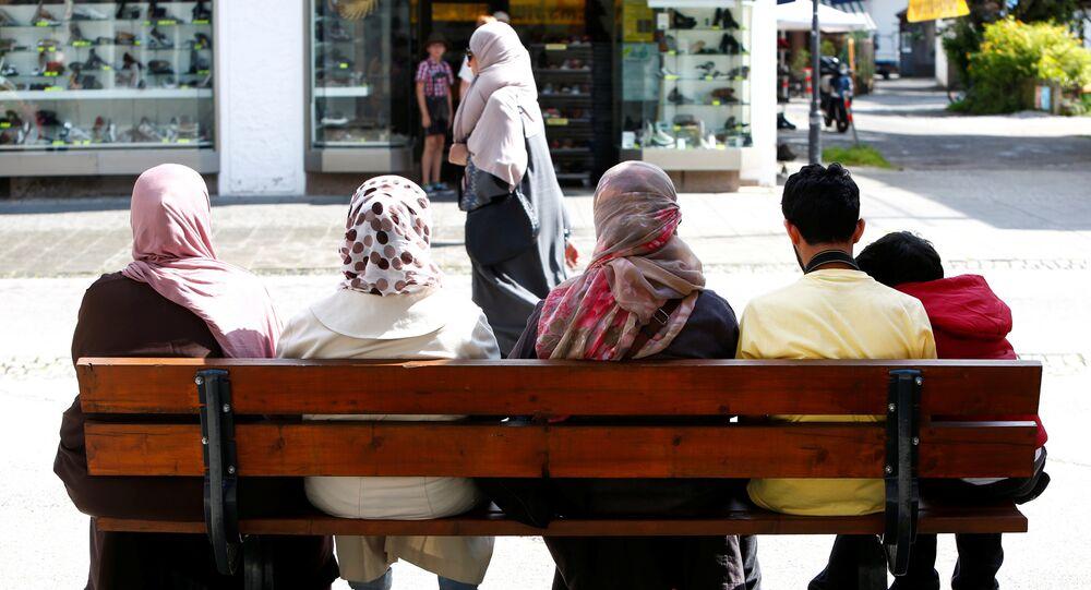 Women wear burkas (File)