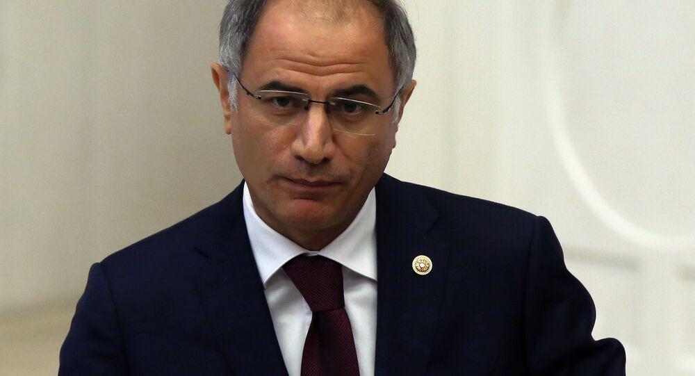 Turkish Interior Minister Efkan Ala (File)