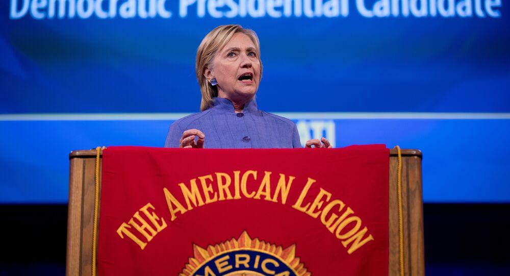 Clinton Warns of Big, Bad, Russia in Most Hawkish Speech to Date