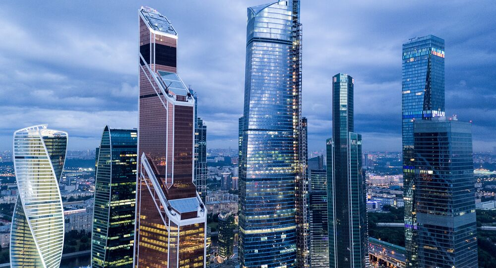 The Moscow International Business Center, Moscow City.