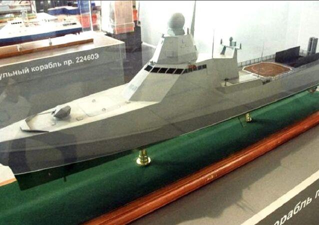 Project 22160 patrol ship