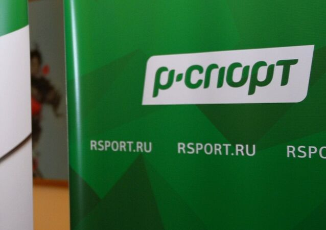 Rossiya Segodnya's sports news agency R-Sport