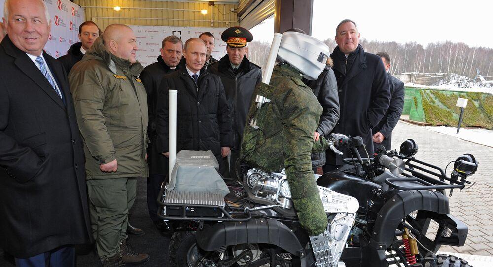 President Vladimir Putin visits research institute of precision mechanics and computer engineering