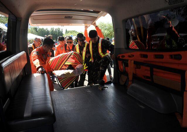 Ambulance in Philippines. (File)