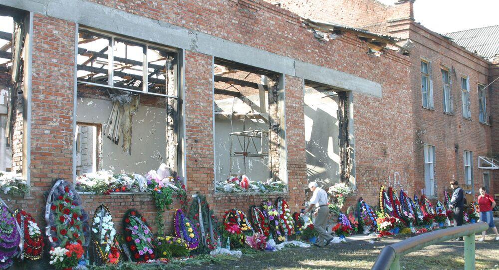 School No.1 in Beslan that was seized by terrorists. (File)