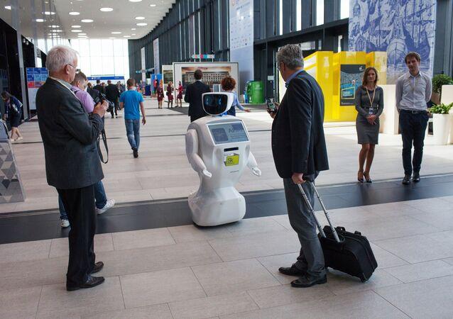 Promobot robot. (File)