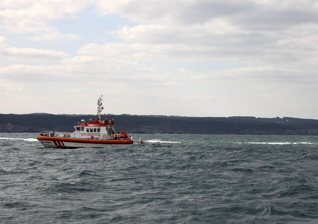 Turkish coastguard boat. (File)
