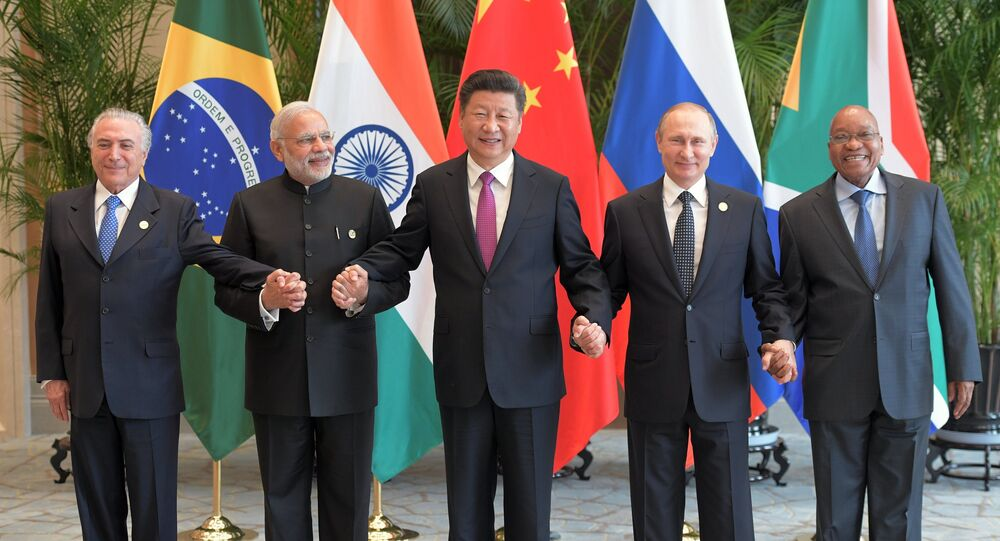 The visit of Russian President Vladimir Putin to China. Second day
