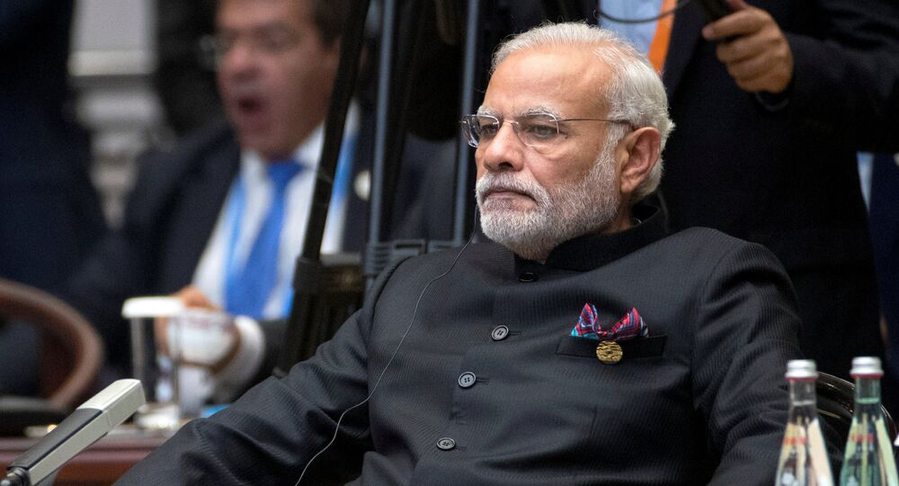 Indian Prime Minister Narendra Modi attends the G20 Summit in Hangzhou, Zhejiang province, China, September 4, 2016