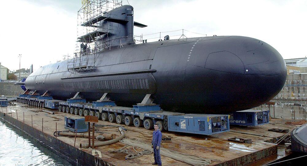 Scorpene-class diesel submarine. File photo