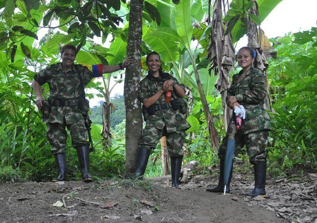 Guerrilleras de las FARC