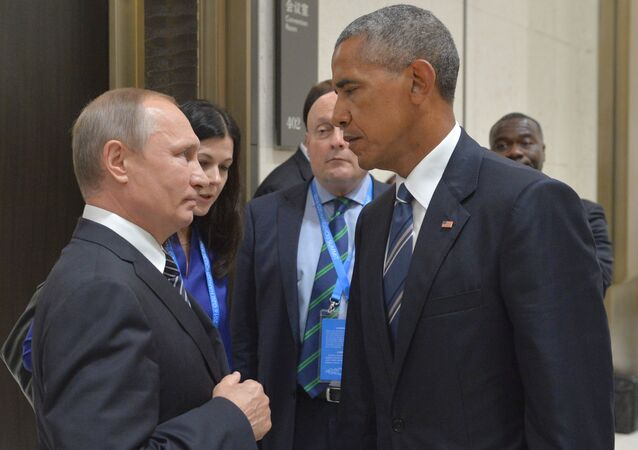 Putin and Obama at G20 Summit in Hangzhou
