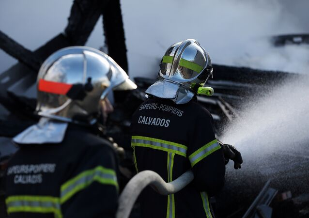 Firefighters in France. File photo