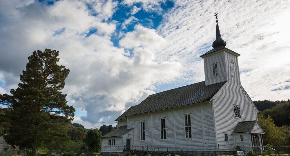 Gjerstad kirke, Norway
