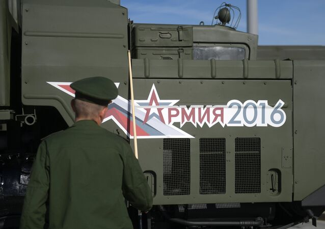 The Army-2016 forum organized by the Russian Defense Ministry kicked off earlier in the day and will last through Sunday. The forum is held in the military-themed Patriot Park in Kubinka near Moscow and in a number of locations in Russian military districts.