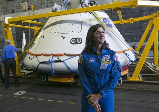 NASA astronaut Nicole Stott. File photo