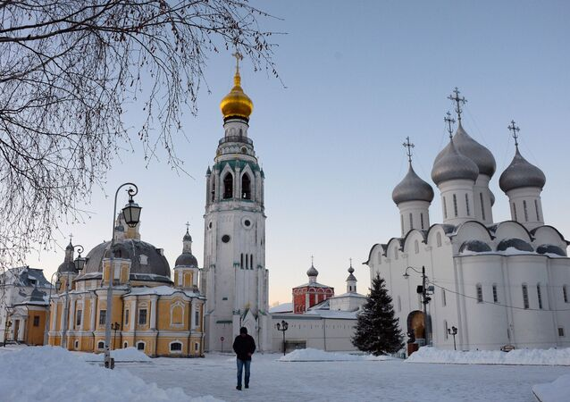 Vologda, the New Year's capital of Russia