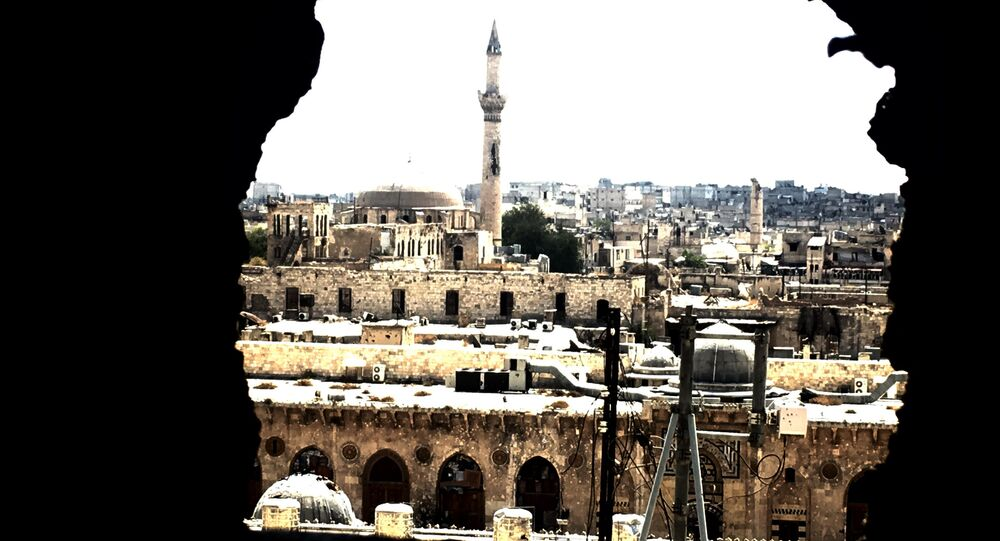 Old city of Aleppo