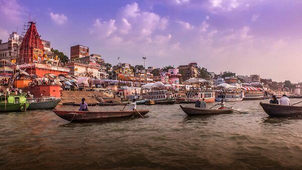 Ganga River, Varanasi, India - Sputnik International