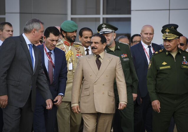Russia and Bahrain are expected to sign on Tuesday an agreement on military-technical cooperation following a meeting between Russian President Vladimir Putin and King of Bahrain Hamad bin Isa Al Khalifa in Moscow.