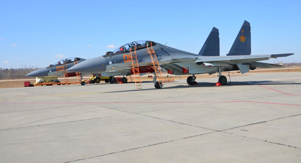 Kazakhstan Air Force Su-30SM