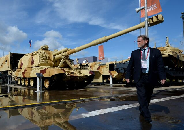 Russia's Uralvagonzavod (UVZ) machine industry company will deliver 42 self-propelled artillery to the Russian Armed Forces by 2019, the research and production corporation's director said Wednesday.