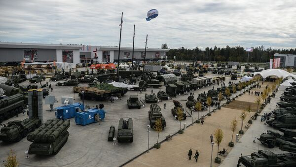 The Army-2016 forum, organized by the Russian Defense Ministry, kicked off on Tuesday and is due to last through Sunday. The forum is held in the military-themed Patriot Park in Kubinka near Moscow and in a number of locations in Russia's military districts. - Sputnik International