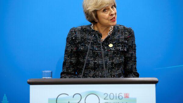 British Prime Minister Theresa May - Sputnik International