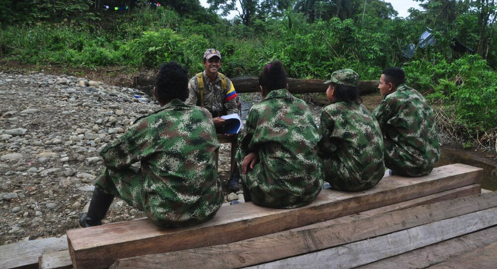 FARC fighters