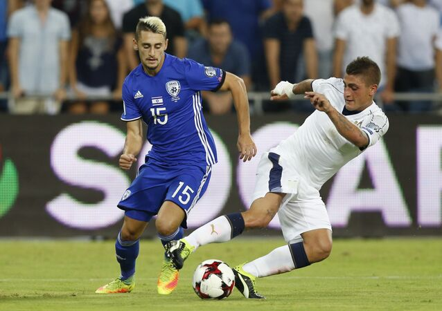 Italy VS Israel 2018 World Cup Qualifier