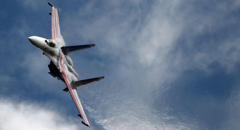 Russian fighter Su-27