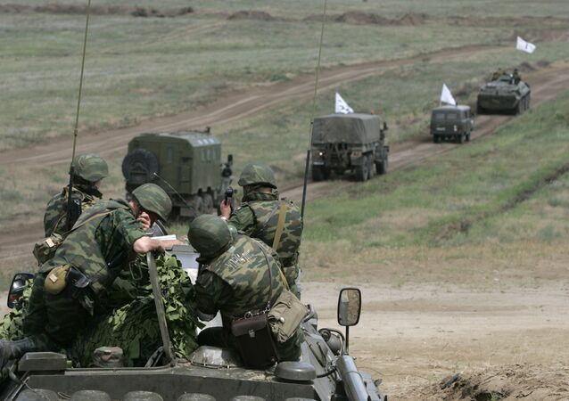 The final stage of the large-scale military drills. (File)